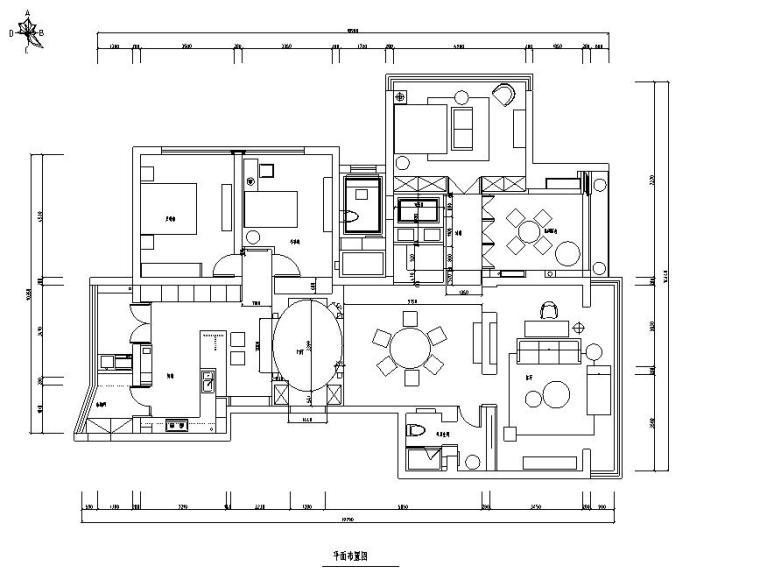 [浙江]现代简约精品三居室装修设计施工图(含实景图)