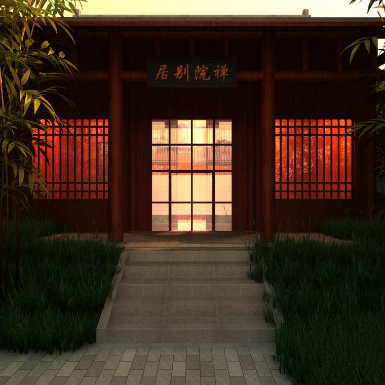 日式禅宗庭园结合禅宗美学设计案例——永福寺_6