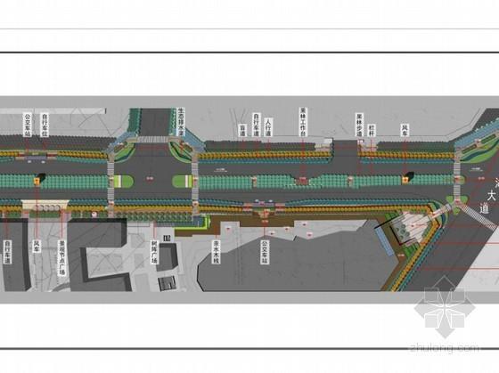 [武汉]道路总体景观规划设计方案