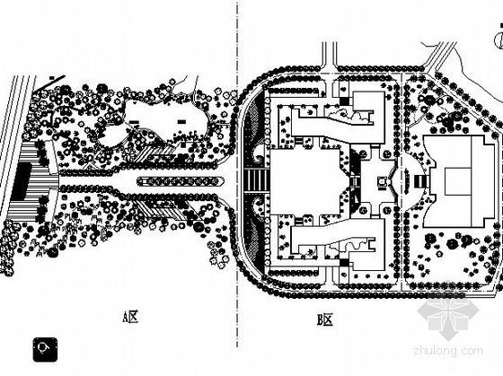 某校园绿地景观工程施工图
