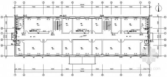 [奎屯]某光伏材料公司办公楼宿舍楼综合楼水暖图纸图片