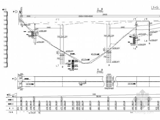 三跨预应力混凝土连续刚构箱梁桥施工图(121张)