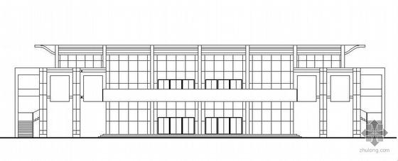 某学院食堂、多功能厅建筑施工图