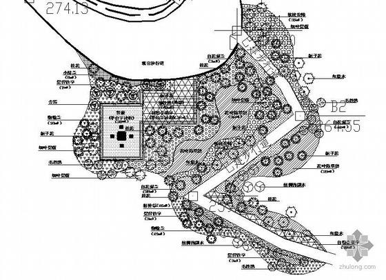 广东东莞森林公园施工招标图纸全套