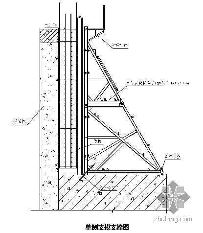 北京某超高层建筑地下室模板施工方案(鲁班奖 高支模 高7.9m)