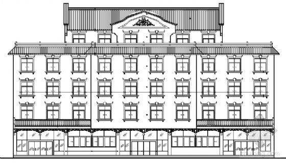 某五层酒店设计建筑施工图