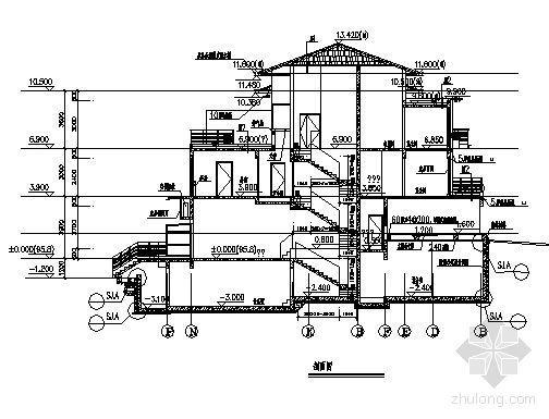 丹堤A区12号楼建筑施工图-2