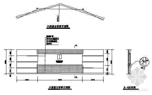 人寿保险公司装修竣工图-2