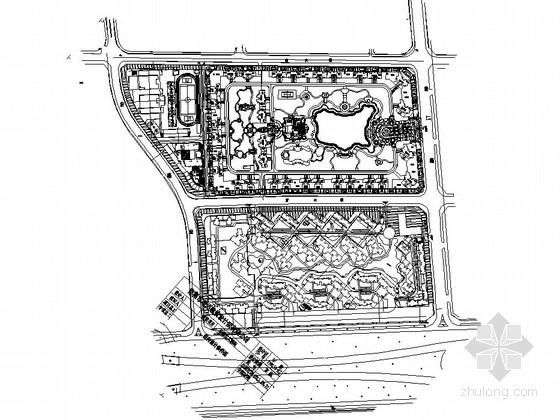 [东莞]居住区园林景观工程总图设计