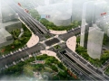 [重庆]市政大道2×8m宽车行地道施工图26张(附结构计算书 国际知名公司)
