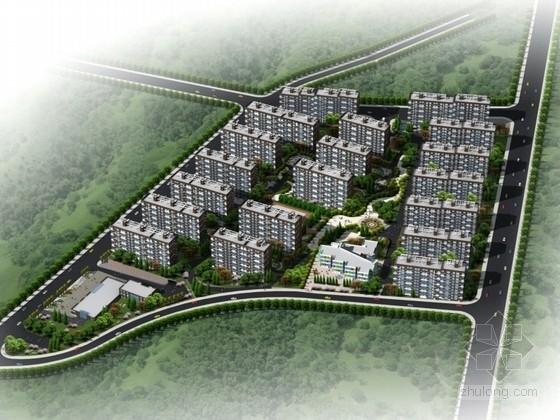 [济南]某住宅区安置房规划及单体设计方案文本(含PPT)