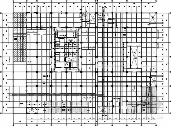25层剪力墙豪华酒店结构施工图(带屋顶泳池)