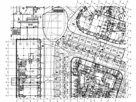 [北京]大型商业综合体暖通空调设计全套施工图533张(50万平中英双