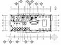[吉林]著名房产现代售楼处室内CAD装修图