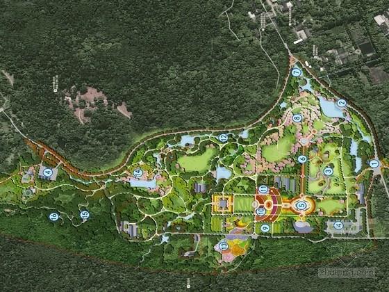 [杭州]蔷薇主题植物园景观规划设计方案