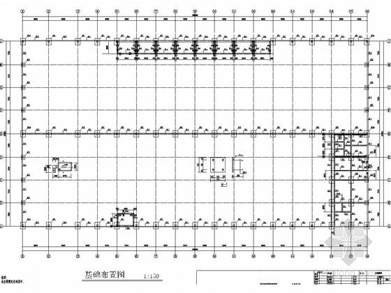 28米跨单层门式刚架结构厂房结构图