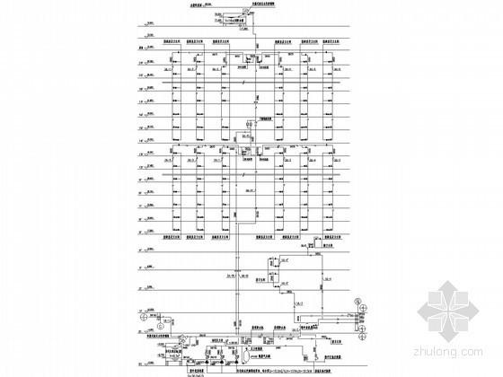 [北京]2万平高层综合楼和机械停车库给排水系统原理图(含19页设计说明计算书)