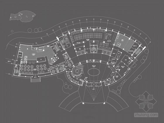 [安徽]高雅新东方时尚古典星级商务酒店装修设计方案