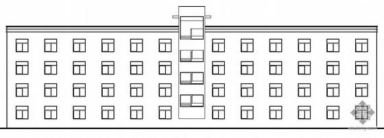 南平市某纺织厂四层1#宿舍楼建筑结构施工图