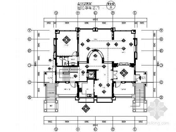 [宁波]时尚魅力三层别墅室内装修图