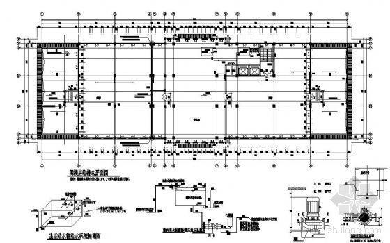 某办公楼屋顶消防水箱设计图