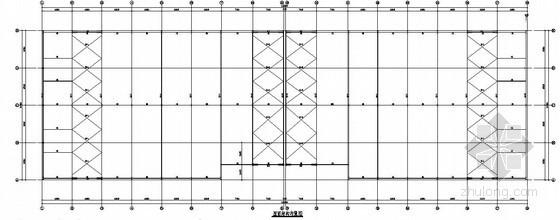 [陕西]钢结构综合市场结构施工图(二层 独立基础)