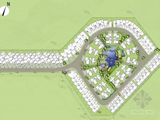 居住小区集中花园景观设计方案