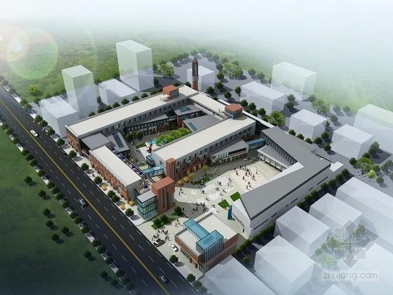 [山东]某产业园规划及单体设计方案文本(含PPT)