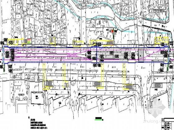 [浙江]地铁主体围护结构施工图53张(800mm厚地下连续墙)