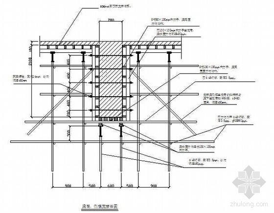 北京某学校体育中心模板支撑系统技术及安全专项方案