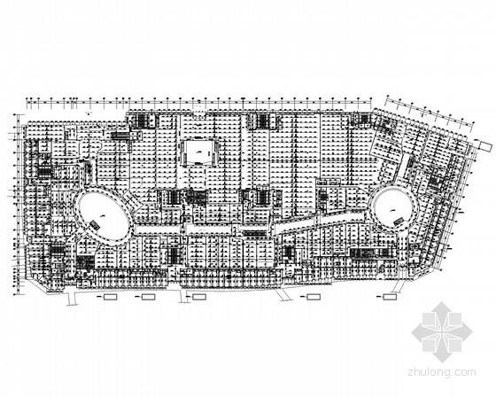 [广东]大型综合广场给排水消防施工图纸(含中水处理、商业、娱乐、办公、五星级酒店)
