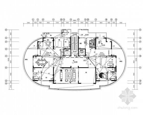 [福建]高层住宅楼全套电气施工图纸98张