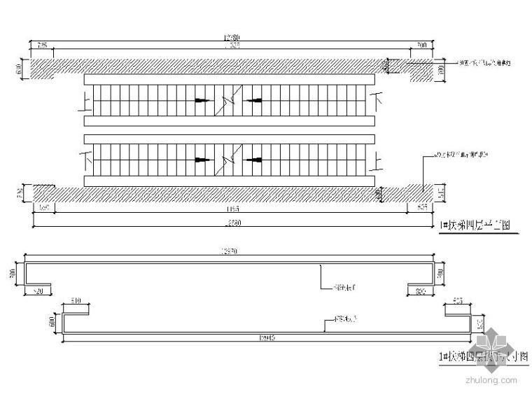 [辽宁]某大型百货商场室内扶梯装修图