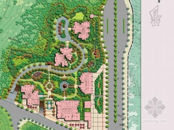 [重庆]托斯卡纳风格居住区景观概念设计方案