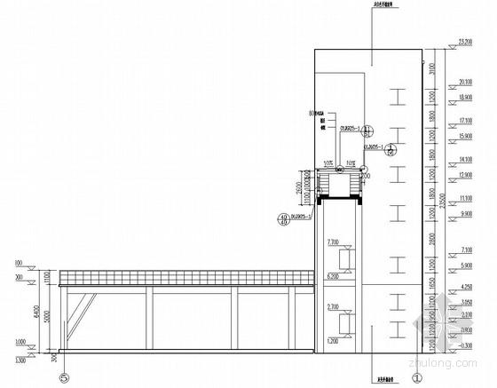 大型锅炉房及干煤棚结构施工图(含建筑图)