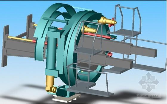 管片安装机结构示意图