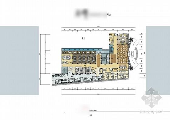 [毕业设计]某酒店中式风格会所室内设计方案图