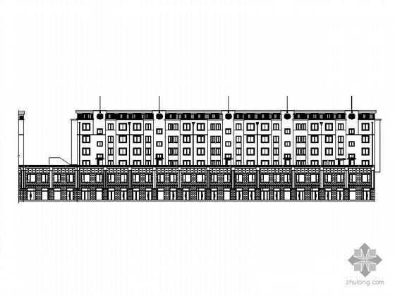 [锦州]某六层商住楼建筑施工图