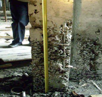 某工程墙柱混凝土质量缺陷处理方案