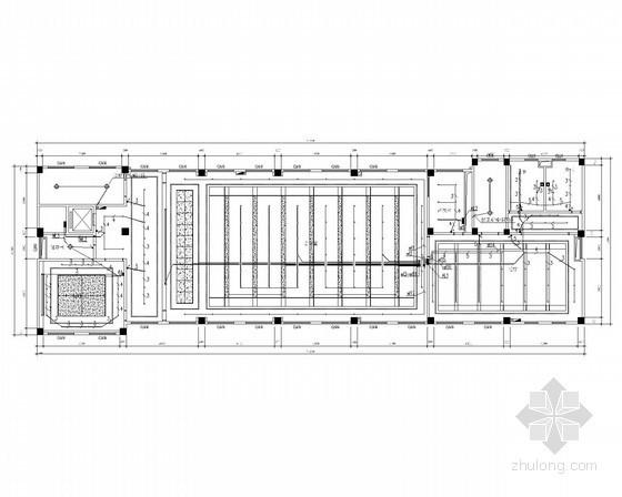 [安徽]综合楼大会议室专项电气精装施工图(2016年最新)