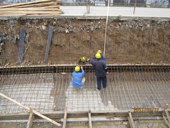 道路边坡支护悬臂式挡土墙施工工艺