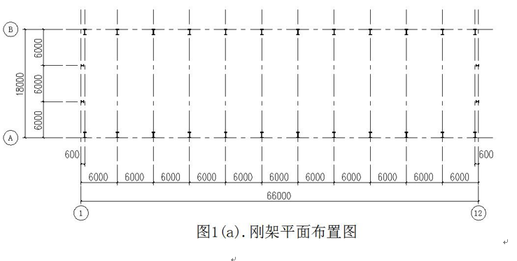 单层钢结构厂房结构计算