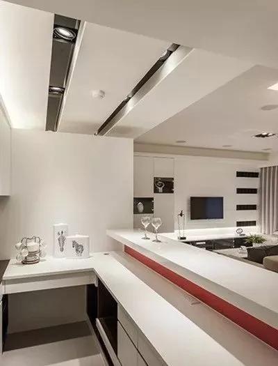开放式家装设计案例,简约素雅_6