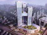 亚洲最大的非对称钢结构空中连廊,整体提升130.3米!
