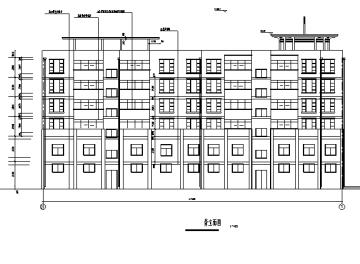 [合集]上百套小型商业建筑施工图