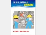 【安全月】混凝土浇筑作业安全要求高清挂图
