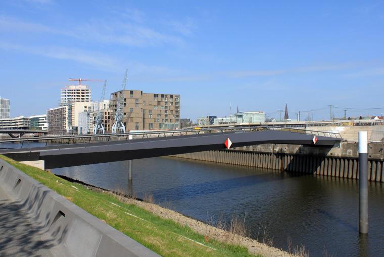 巴肯港步行桥景观-2