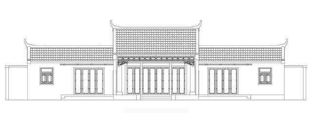 徽派四合院建筑设计施工图