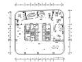 LA公园一号广场办公空间设计施工图(附效果图+材料清单)