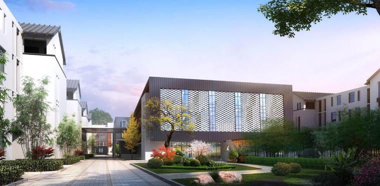 胥口小学及幼儿园建筑模型设计(2018年)
